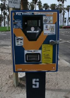 Beach Parking Machine