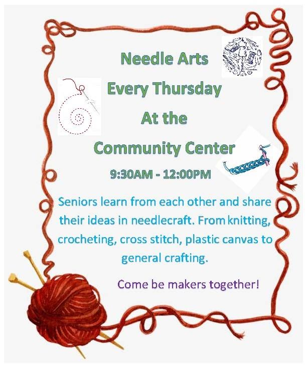 needle arts Flyer