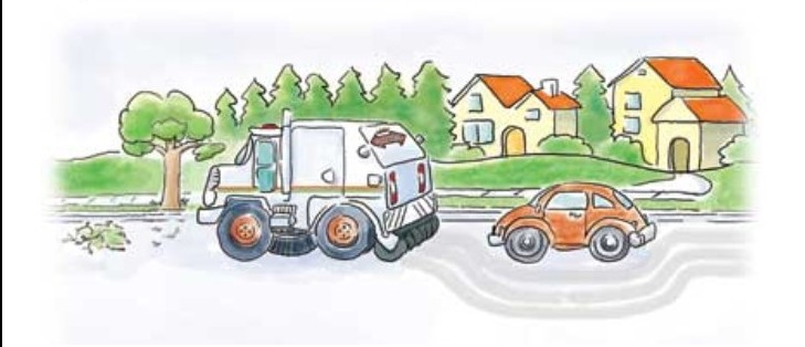 Street Sweeping Clipart