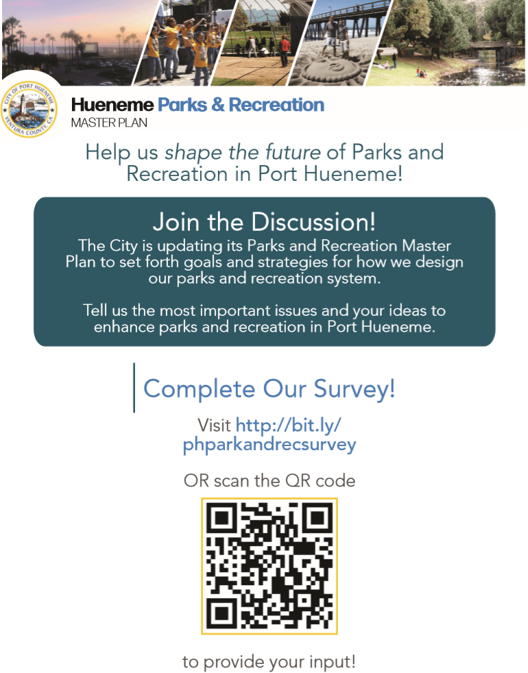 Parks Survey Flyer
