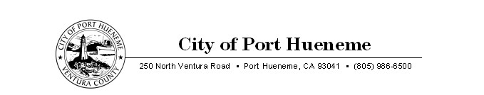 City of Port Hueneme