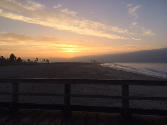 Hueneme Beach sunrise