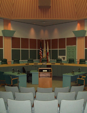 Port Hueneme City Council Chamber