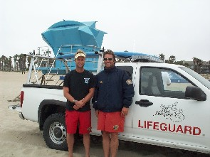 lifeguards with truck